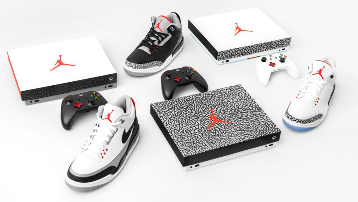 Xbox and Air Jordan Collaborate to Create Limited-Edition Consoles