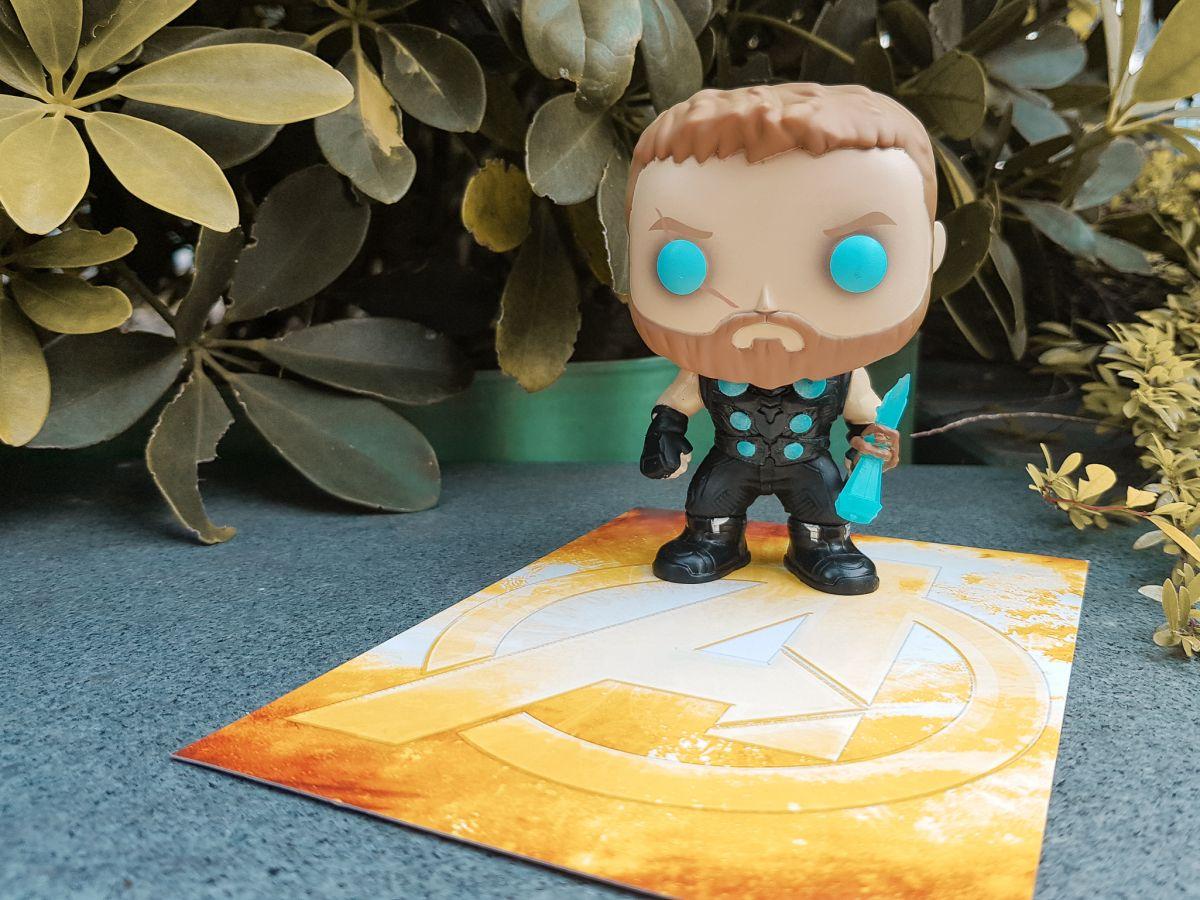 Asia Exclusive Infinity War Glow In The Dark Thor Funko Is