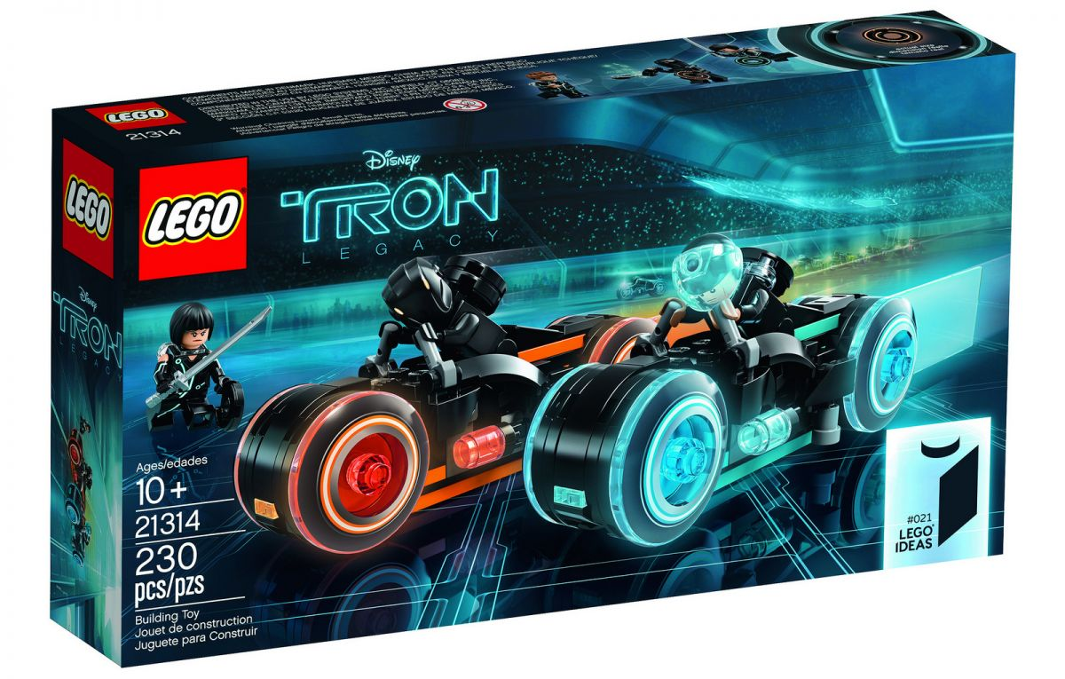 lego ideas tron legacy set 21314 is out end march 2018. Black Bedroom Furniture Sets. Home Design Ideas