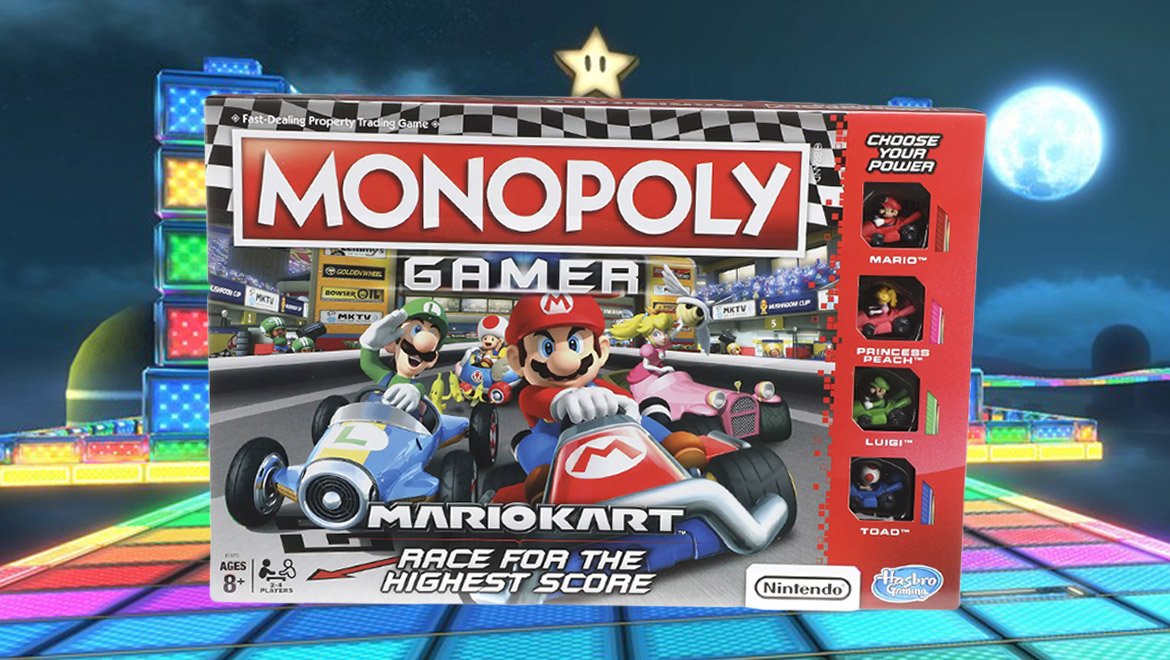 Win The Race For Properties In The New Monopoly Gamer Mario Kart