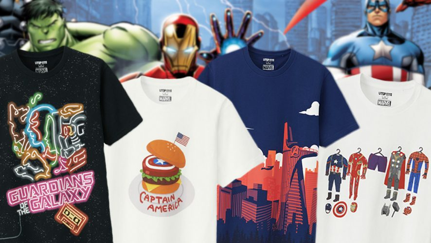 a882ffae Awesome Fan-Designed Marvel Grand Prix Tees are Coming to Uniqlo ...