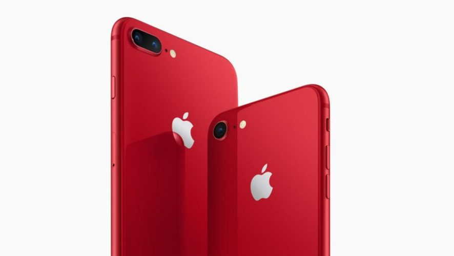 80f50bf2f90402 Apple Introduces New Red iPhone 8 And 8 Plus In Collaboration With PRODUCT( RED)