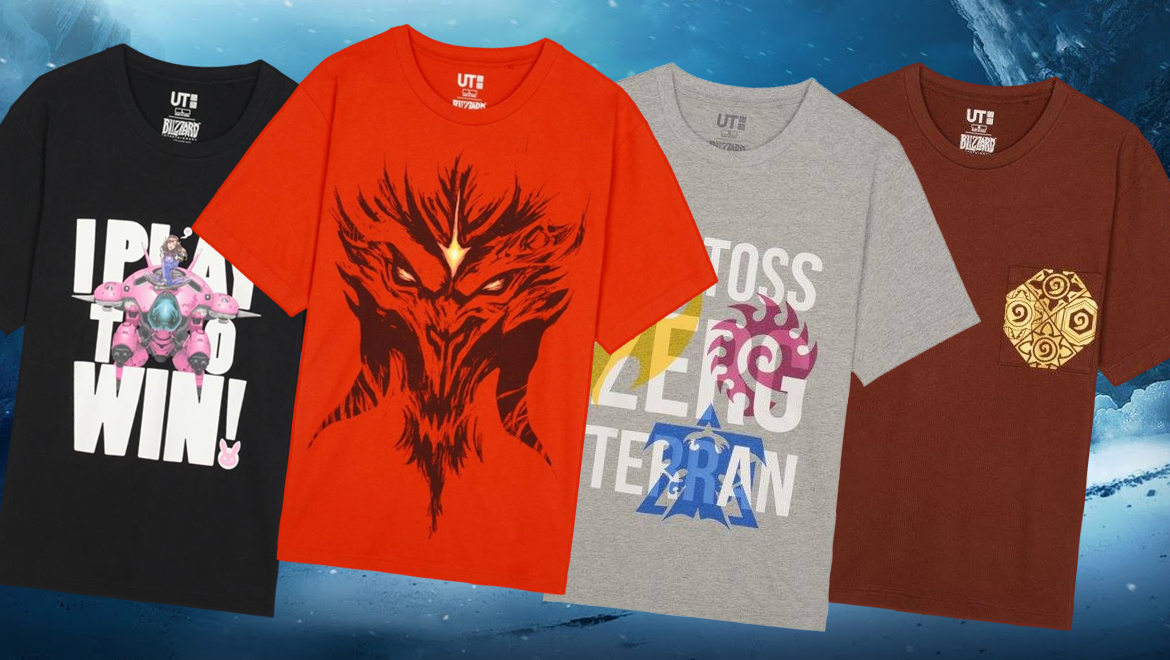 Blizzard entertainment and uniqlo team up to deliver the ultimate blizzard entertainment and uniqlo team up to deliver the ultimate gaming shirts stopboris Images