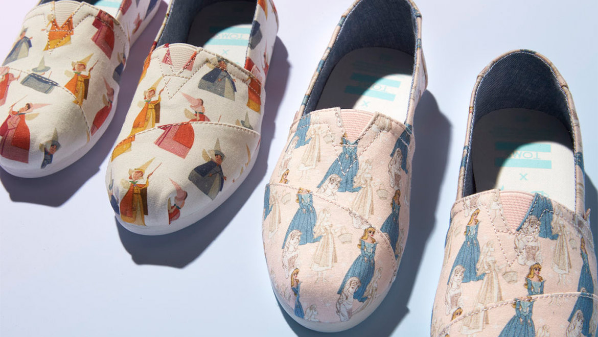 Ditch The Glass Slippers This Toms X Disney Collection Is What A Princess Needs