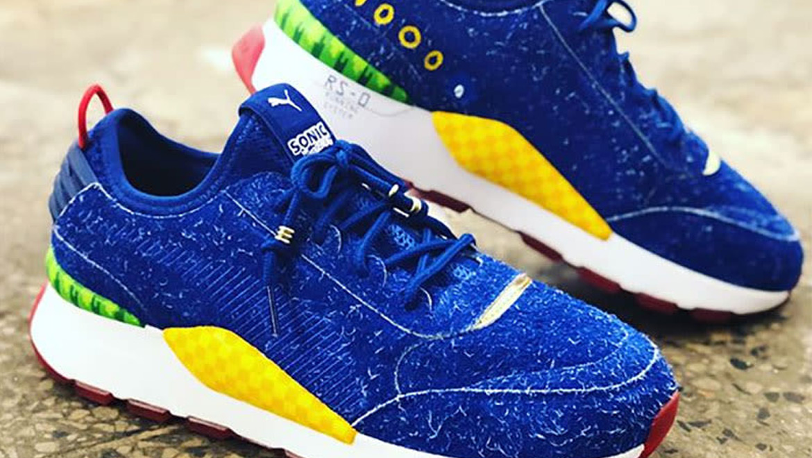 Puma Unveils Furry New Sonic The