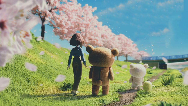 Netflix's Stop-Motion Teaser For Rilakkuma and Kaoru Is Un-bear-ably