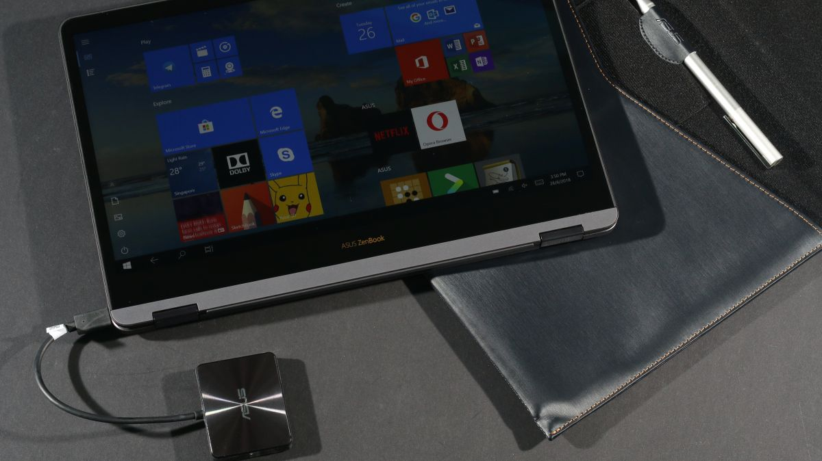 Travels With ASUS ZenBook Flip S For Entertainment, Work And