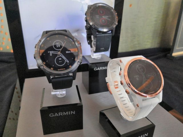 Garmin S Latest Fenix 5 Plus Multisport Watches Are Packed With New