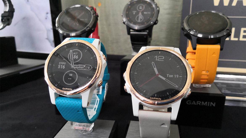 Garmin Sports Watch >> Garmin's Latest fēnix 5 Plus Multisport Watches Are Packed ...