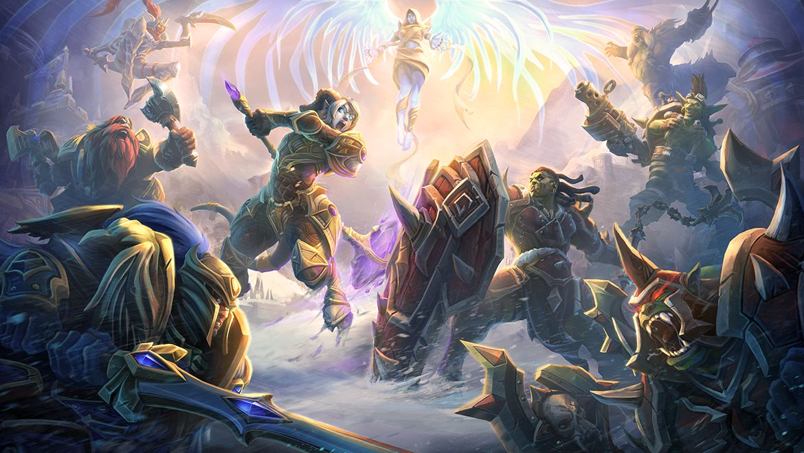 World Of Warcraft Heads Over To Heroes The Storm With Another New Hero And Map