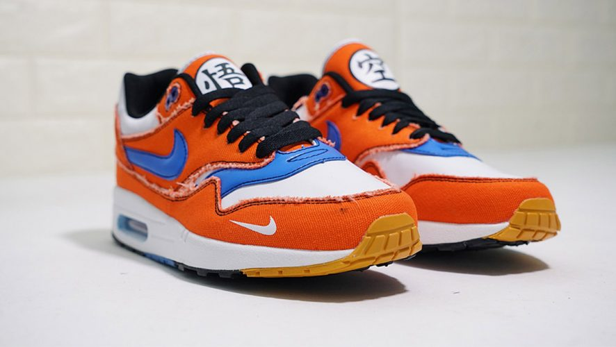 separation shoes 157d1 4b50a Go Super Saiyan With These Custom Dragon Ball Z Nike Air Max Shoes ...