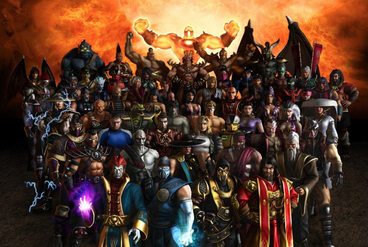 all mortal kombat movie characters