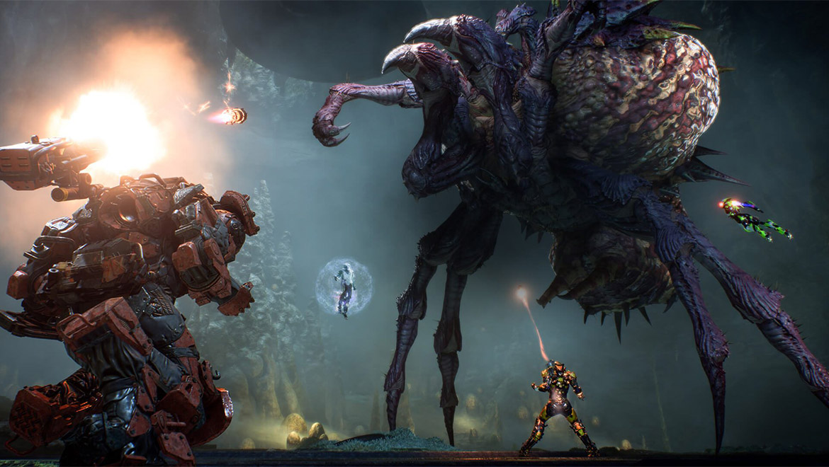 Bioware Shares 20 Minute Anthem Gameplay Video With Dev Commentary