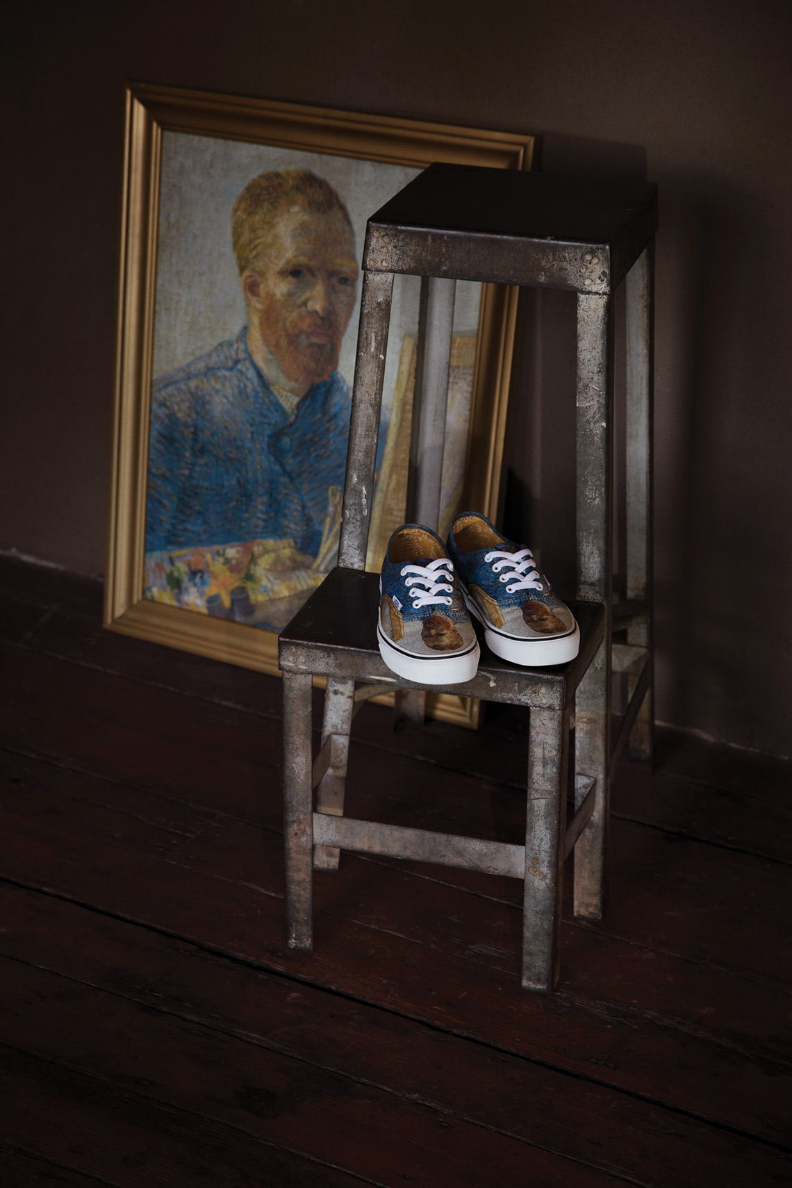 1107aee693 A Tale Of Two Vans  Vans And Van Gogh Museum Team Up For An Artistic ...