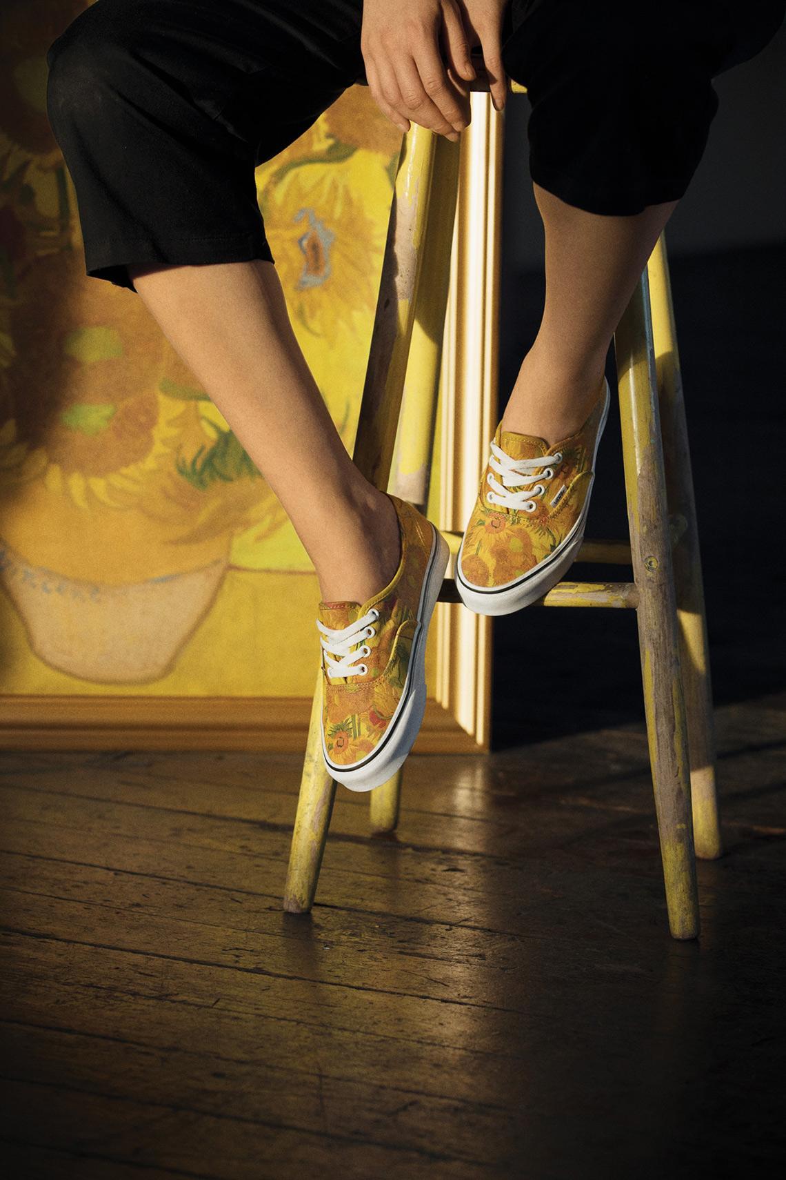 Van Gogh's Art Now Adorns Vans Shoes  Open Culture