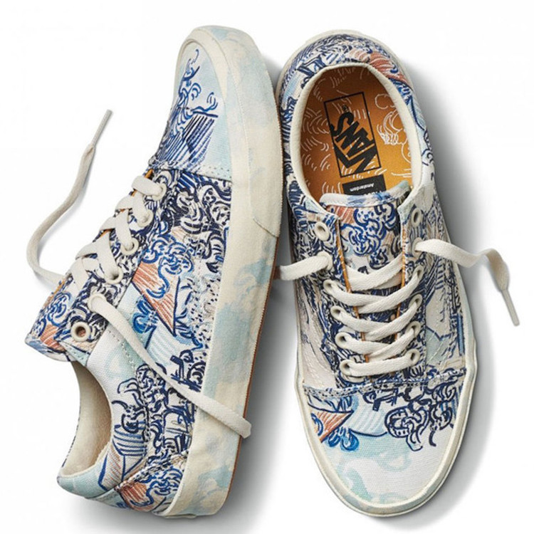 vans van gogh shoes \u003e Clearance shop