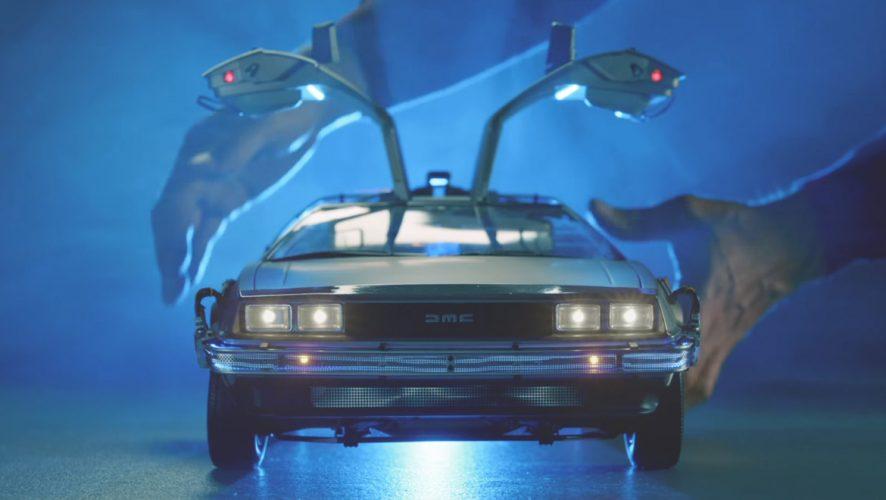 The Back To The Future 18 Scale Replica Delorean Is -2160