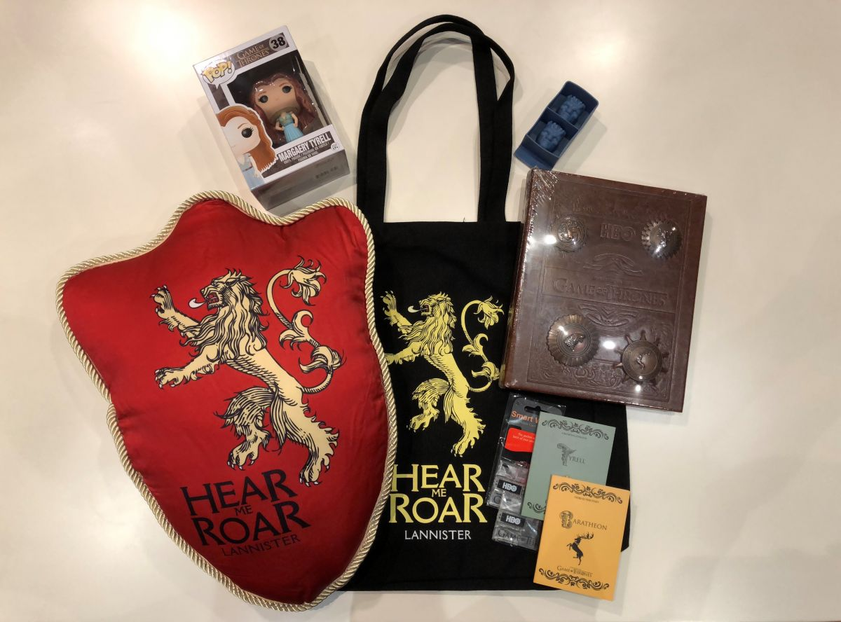 Geek Giveaway: Game of Thrones Swag + SG Zoo Dragon & Mythical