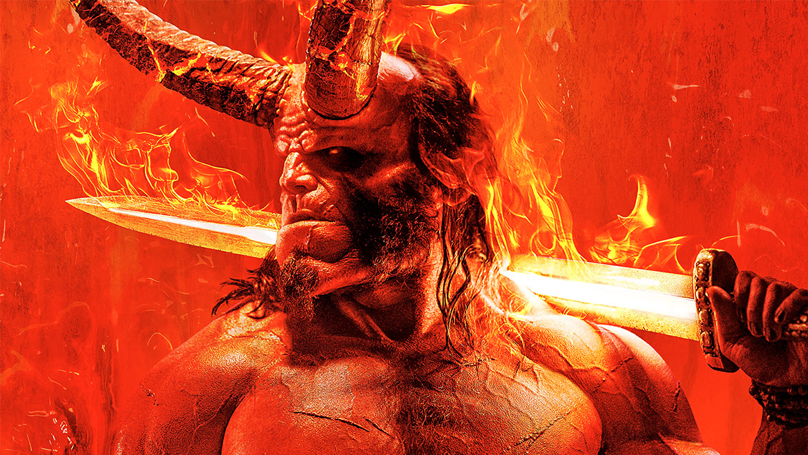 Hellboy Is Setting The World On Fire In First Look At New