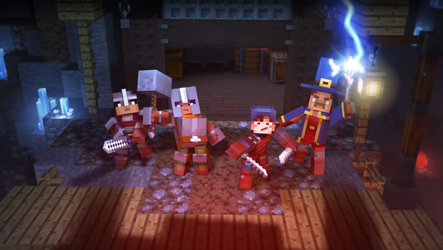 Explore Different Kinds Of Worlds In Minecraft Dungeons