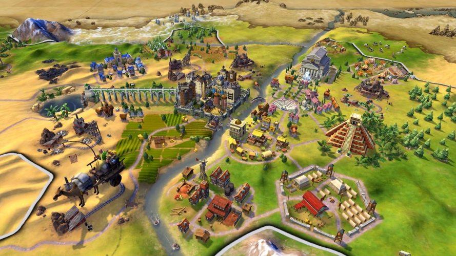 Sid Meier's Civilization VI Out Now On Nintendo Switch