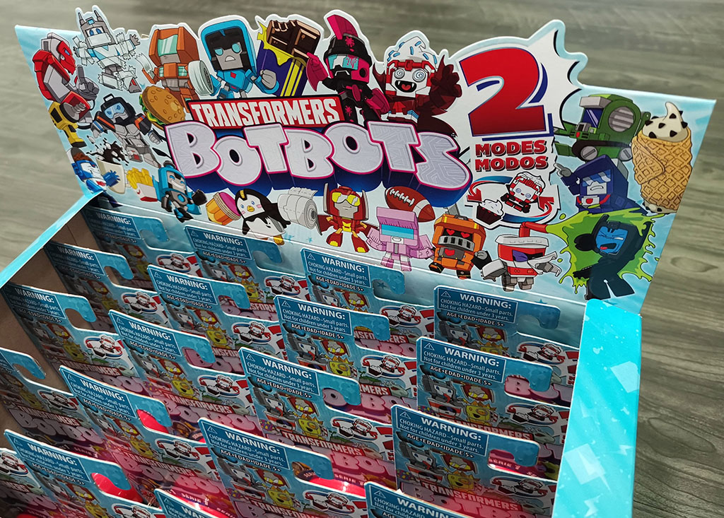 First Looks: Hasbro's Adorable Transformers BotBots Series 1