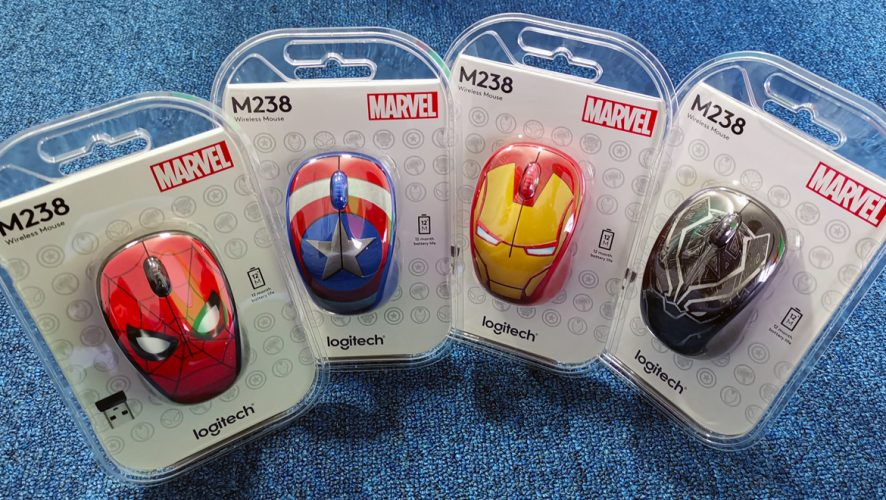 72b6f53a63d Geek Giveaway: Logitech M238 Marvel Collection Mice! | Geek Culture