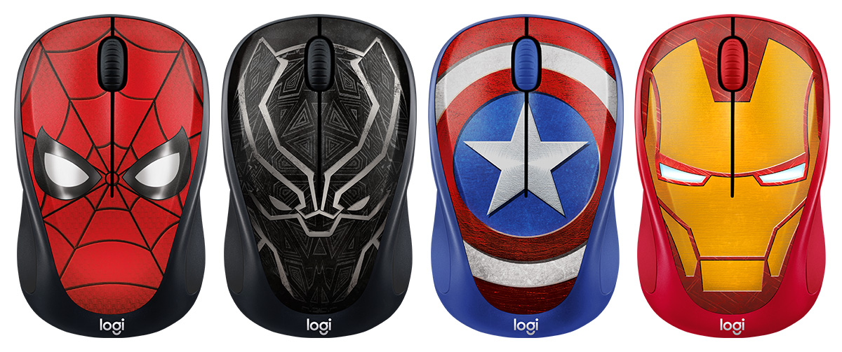 5b74b0f7629 Besides transforming your mouse into a superhero, the Logitech M238 mouse  is a classic model that's compatible with just about anything, be it  Windows, ...
