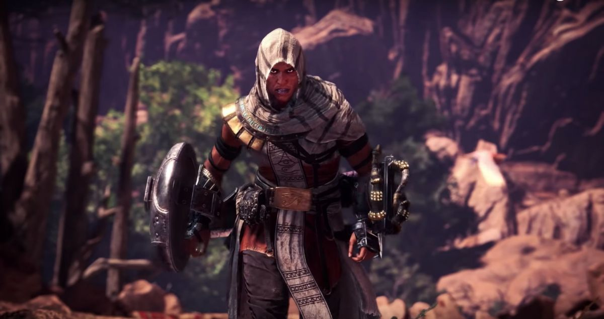 Assassin's Creed Takes Leap Of Faith Into Monster Hunter: World In