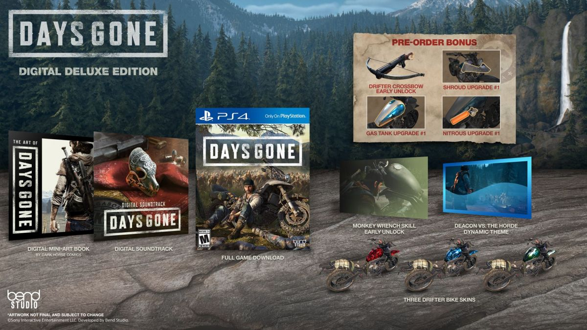 Days Gone Digital Pre-Order Available Today! | Geek Culture