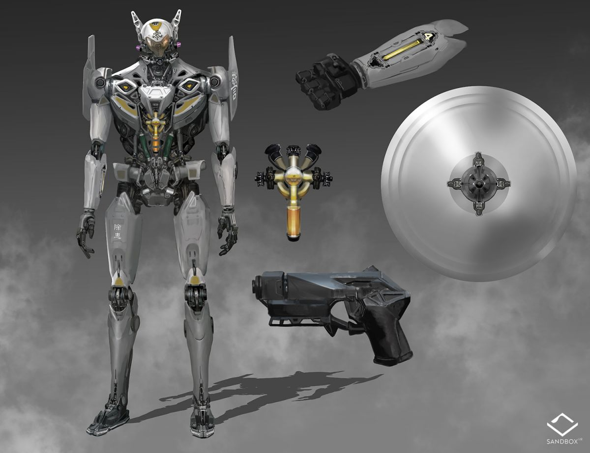 Defender. Concept art by Michael Chang