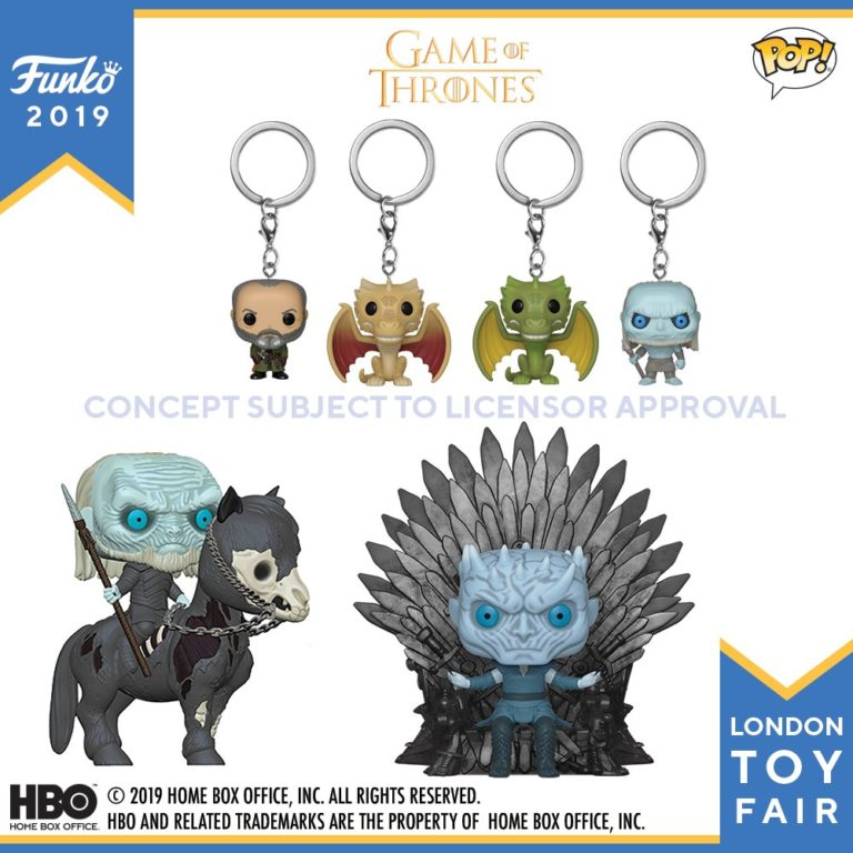 Game of Thrones Night King, White Walker, and keychains