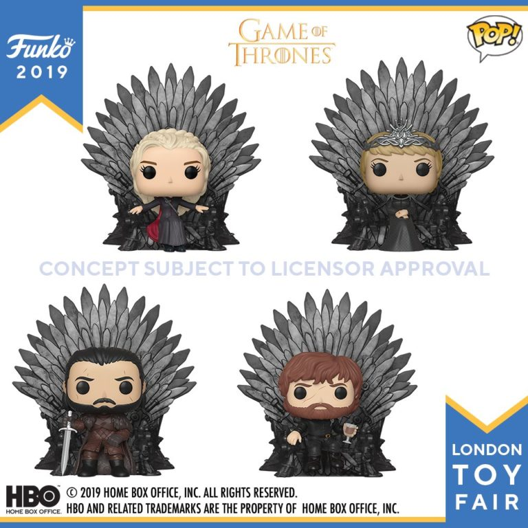 Game of Thrones main cast on the Iron Throne