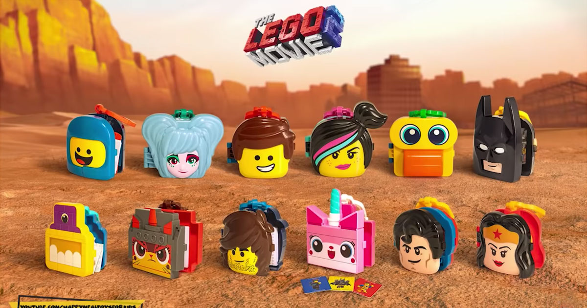 McDonald's Happy Meal Has Toys For The LEGO Movie 2!   Geek