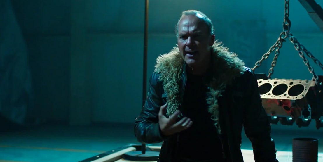 Michael Keaton as Vulture