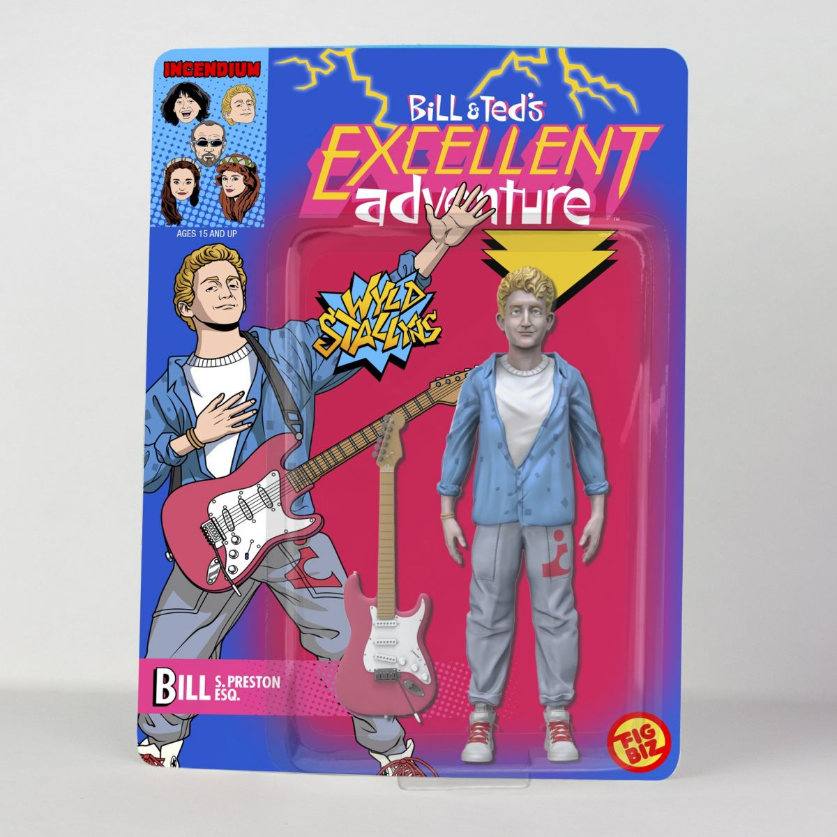 Incendium Releases Bill And Ted Merchandise To Celebrate Film's 30th