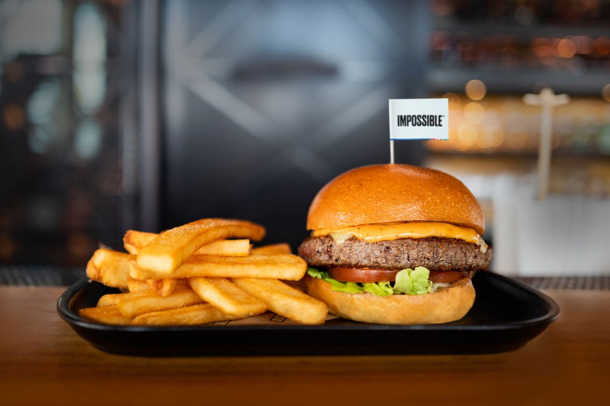 The Impossible BSK Burger by Bread Street Kitchen