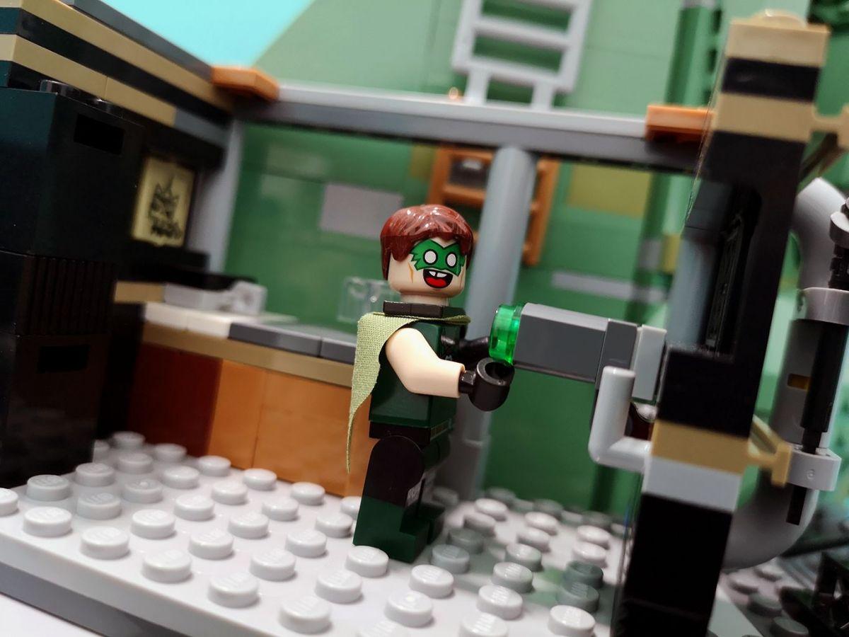 Crazy Green Lantern.