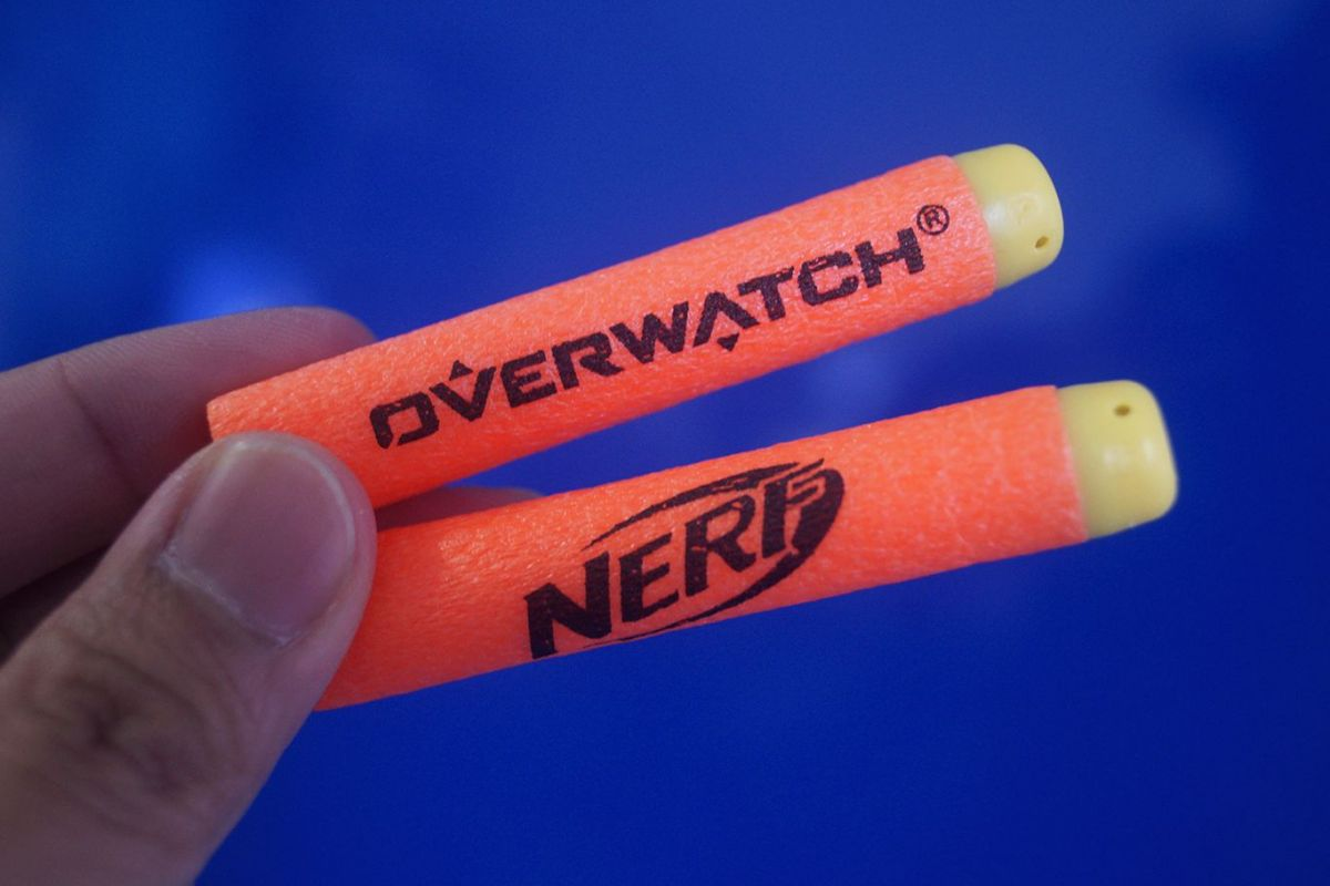 Geek Review: Nerf MicroShots Overwatch - Tracer, D Va & Torbjörn