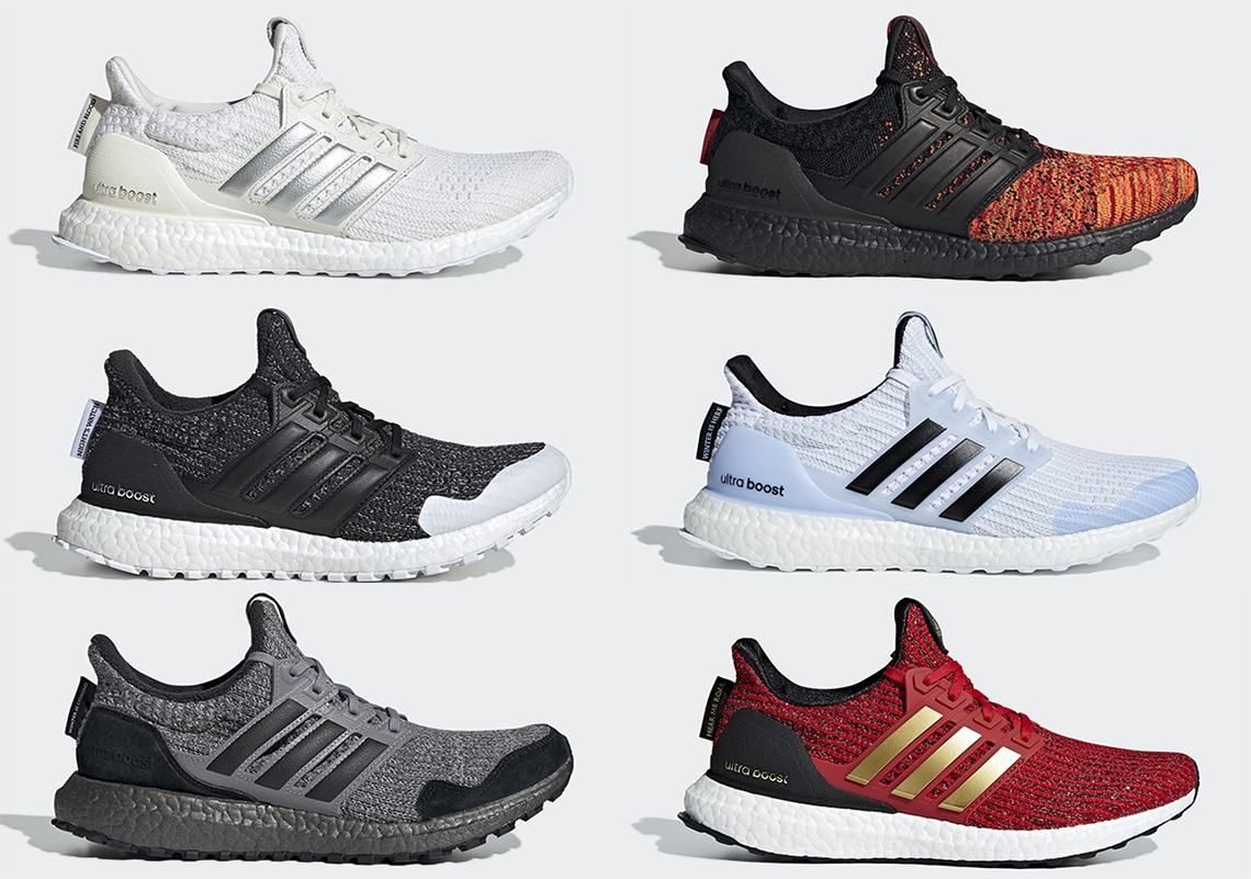 8008edfb1b8 This new collection of Ultra Boost kicks will allow fans to rep their  favourite factions in the fantasy series