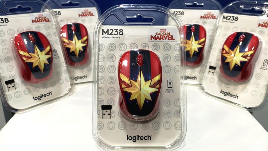 e4b48d0ef0a Geek Giveaway: Captain Marvel Logitech M238 Mice! | Geek Culture