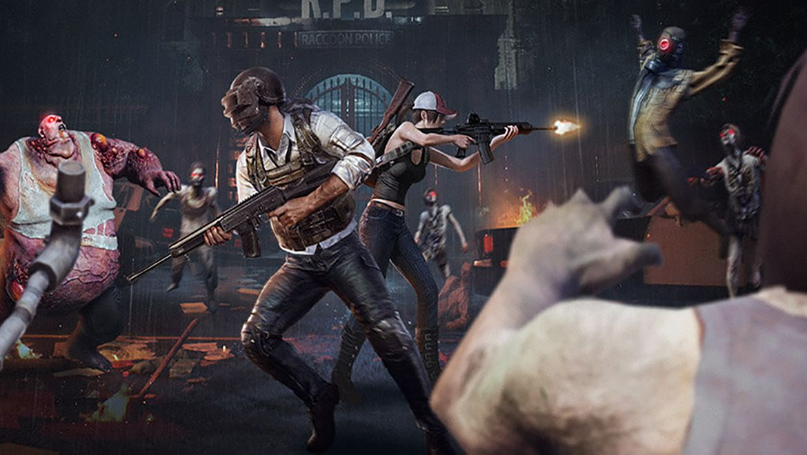 Pubg Resident Evil Wallpaper: PUBG Mobile Gets The Zombie Treatment With Resident Evil 2