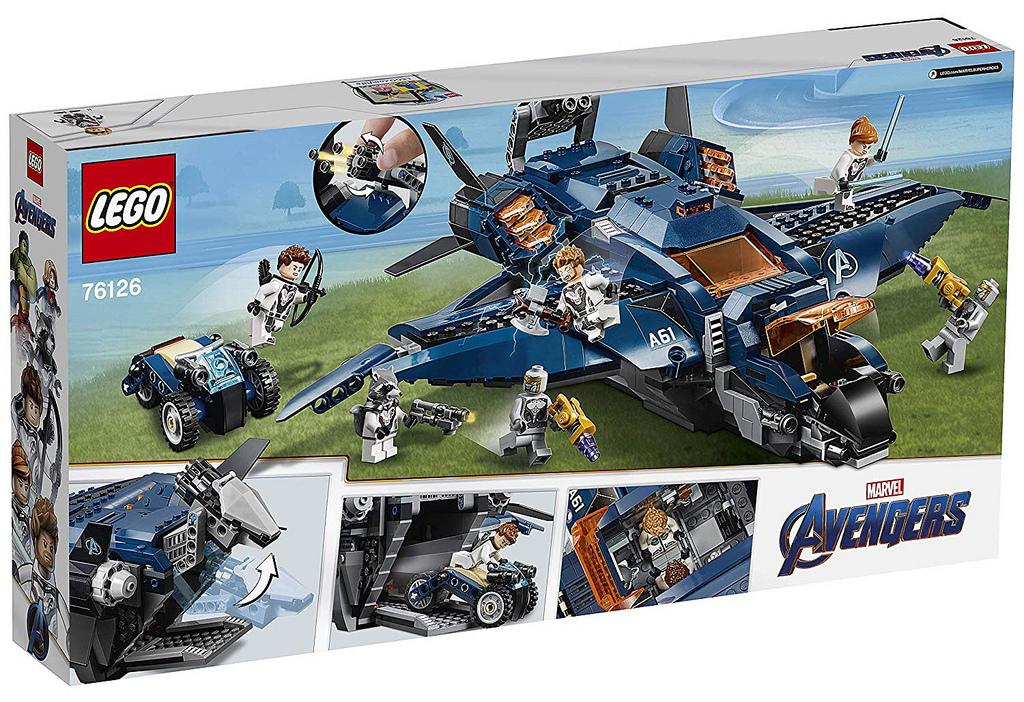 LEGO Avengers: Endgame Sets Leaked By Amazon France ...