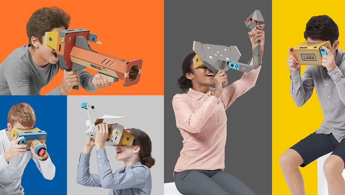 Nintendo Labo goes VR with upcoming kit