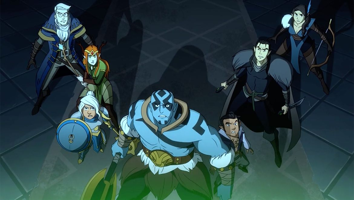 D&D Stream Critical Role Gets Animated Show On Kickstarter, With $3M