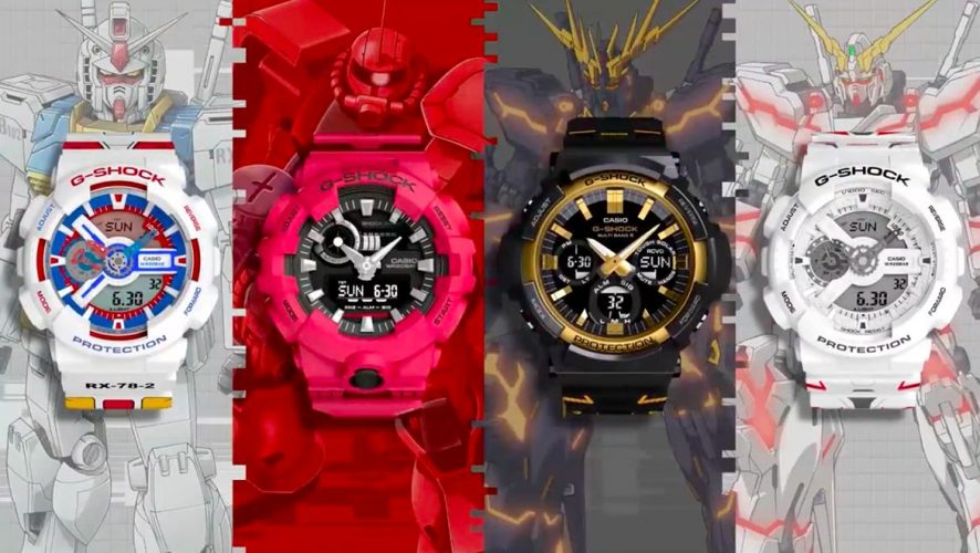24dc6a02d8d Celebrate Gundam s 40th Anniversary With Casio G-Shock Watches ...