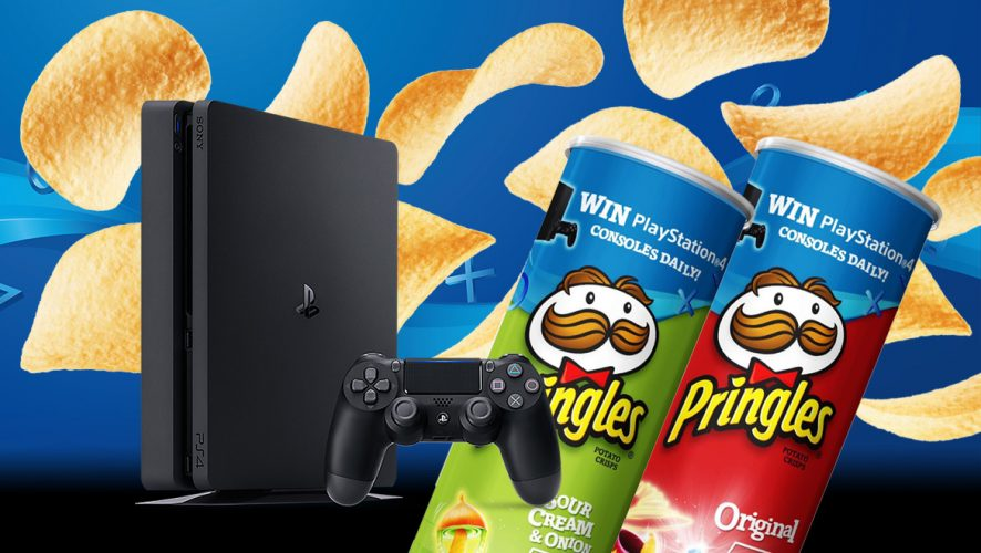You Can Now Win A PlayStation 4 By Simply Eating Pringles! | Geek