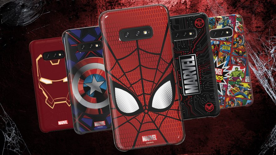 A Peek At The Galaxy Friends Marvel Smart Cover for Galaxy S10