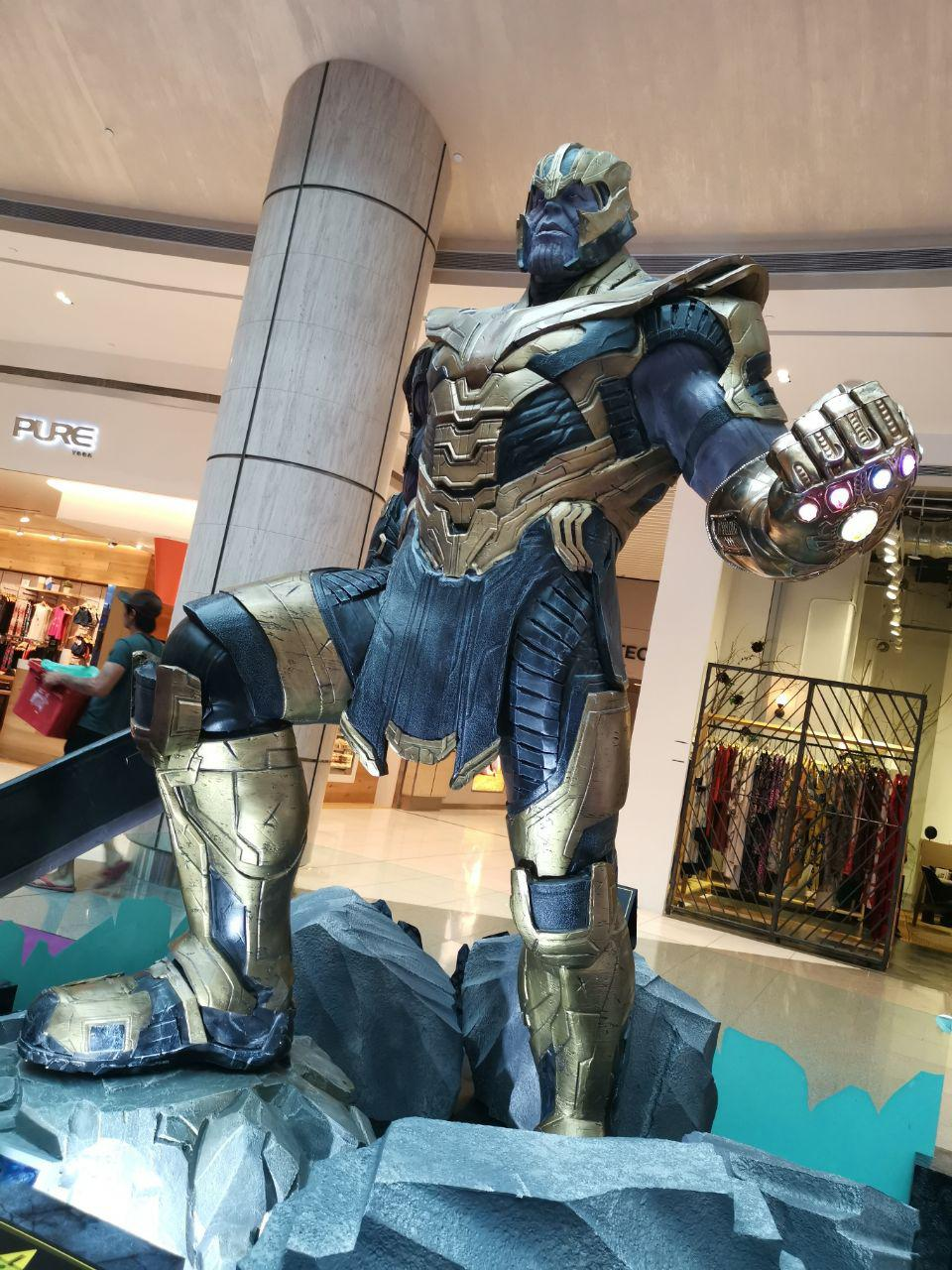 You Can Now Take A Selfie With Life-Size Hot Toys Thanos At Suntec