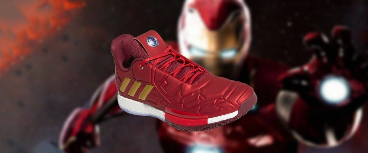 new concept e53f6 b354c Adidas To Release Iron Man-Inspired Harden Vol. 3   Geek Culture